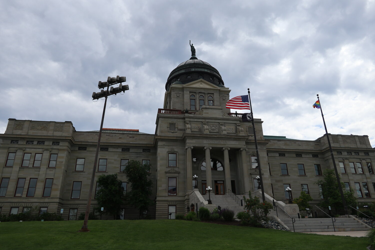 The Montana State Capitol (2019年6月撮影)