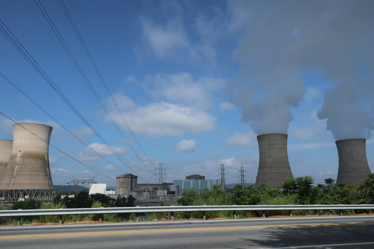 Three Mile Island Nuclear Generating Station (2019年7月撮影)